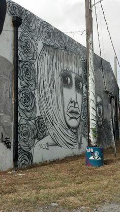 Wynwood artwalk in Miami