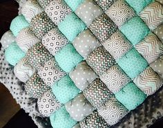 Bubble Quilt by SodariStudio on Etsy