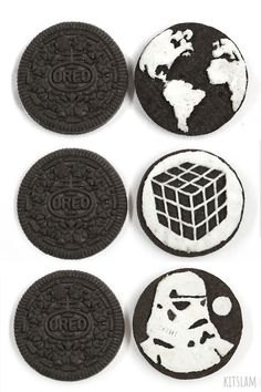 How to draw a Rubik' cube. I show you how I draw a Rubik's Cube on a Oreo cookie. This Oreo Cookie carving is part of an ongoing Series of Rubik's Cube art o. Oreo Bars, Oreo Brownies, Oreos, Oreo Cookies, Oreo Cupcakes, Food Art Painting, Oreo Flavors, Food Art For Kids, Speed Art
