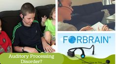 Two of our sons have been diagnosed with auditory processing disorder and have struggled because of it. I was so excited when Forbrain - Sound For Life LTD sent me a Auditory Processing Disorder, Central Nervous System, Your Voice, Disorders, Brain, Sons, Homeschool, Life, The Brain
