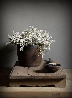250 gram Droogbloemen wit