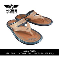 M-GEE Footwear MG-ALONSO tan