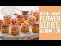 Buttercream Flowers: The Carnation - YouTube