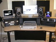 Miraculous The 6 Best Studio Desks For Home Recording Largest Home Design Picture Inspirations Pitcheantrous