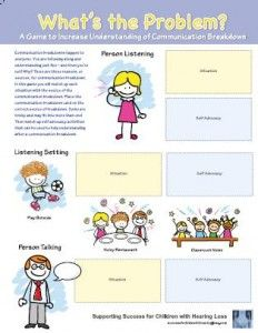Game to help identify communication problems that may occur in different community locations Psychology Questions, Colleges For Psychology, Environment Topic, Classroom Environment, List Of Resources, Teaching Resources, Self Advocacy, Communication Problems, Social Awareness