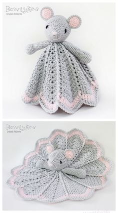 Crochet Wee Mouse Lovey Crochet Pattern The post Crochet Mouse Lovey Free Crochet Pattern & Paid appeared first on bébé. Crochet Baby Toys, Crochet Mouse, Crochet Amigurumi, Baby Afghan Crochet, Crochet Bunny, Cute Crochet, Crochet Crafts, Crochet Dolls, Easy Crochet