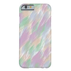 Color Strokes Abstract iPhone 6 Cases Barely There iPhone 6 Case