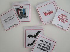 Un anniversaire Chica Vampiro et autres vampires: les animations (gratuit à imprimer)! (Chica Vampiro birthday party ideas)