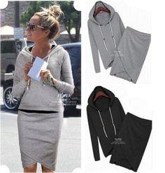 Autumn -summer women baseball jacket casual sweater skirt suits sport sweatshirt shorts tracksuits women hoodies dress suit(China (Mainland))