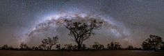 Milky Way Panorama Australian Outback  js - http://astronomy.abafu.net/astronomy/milky-way-panorama-australian-outback-js