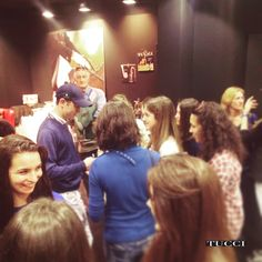 VIP lounge @scott brash and his fans at Tucci's stand in Fieracavalli #tucciwolrd #tuccitowin #tucciboots #tuccitime