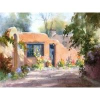 Paint Along with Johannes Vloothuis: Adobe House in Watercolor | NorthLightShop.com