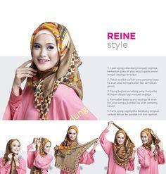 Like this tutorial, easy and so me… ^^V – Hijab Fashion 2020 Square Hijab Tutorial, Simple Hijab Tutorial, Hijab Style Tutorial, Hijab Jeans, Hijab Fashionista, Eid Outfits, Muslim Hijab, Islamic Clothing, Curvy Girl Fashion