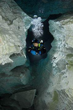 Orda Cave by Viktor Lyagushkin, via Behance