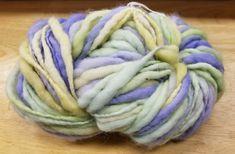 Mango Moon's Dreadlocks yarn is a chunky 100% Merino hand dyed wool that's 98 yards of soft full yarn.