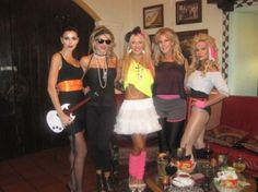 Love the 80's costumes! Halloween costume maybe?
