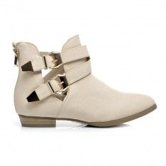 WYCIĘTE BOTKI CUT OUT C073BE /S3-97P Booty, Ankle, Shopping, Shoes, Swag, Zapatos, Wall Plug, Shoes Outlet, Shoe