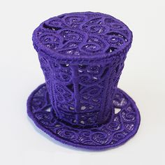 Tricorn Hat (Lace) | Urban Threads: Unique and Awesome Embroidery Designs