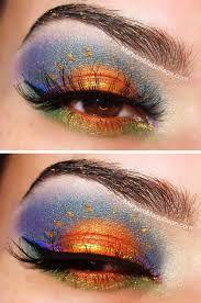 Resultado de imagen para maquillaje artistico de ojos paso a paso