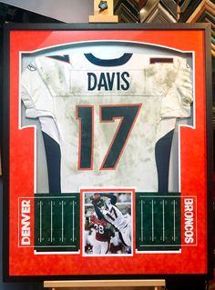 d8fdea030 Jersey Framing and Sports Memorabilia Custom Framing Shadow Box Jersey