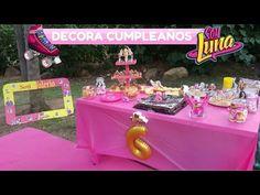 Piñata soy Luna, en forma de patín - YouTube