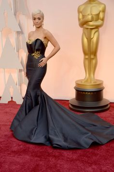 Rita Ora in Marchesa. See all the best red carpet arrivals here: