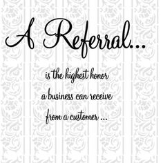It is often easy to forget to thank those who have helped you in business by offering referrals. Shop for Business Referral Greeting Cards today! Lvl Lashes, Lash Quotes, Hairstylist Quotes, Hairdresser Quotes, Real Estate Quotes, Salon Business, Business Ideas, Craft Business, Small Business Quotes