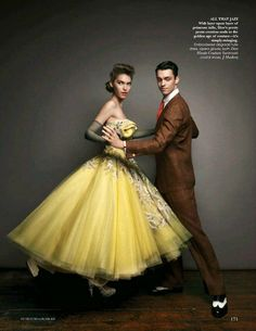 Let's Dance | Arizona Muse by Patrick Demarchelier for Vogue India, August 2011 #Dior #couture