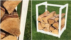 Karins hem & trädgård. Odla, bygg och inspireras! Privacy Fence Landscaping, Firewood, Garden Projects, Garden Inspiration, Wood Crafts, Outdoor Gardens, Home And Garden, Texture, Landscape