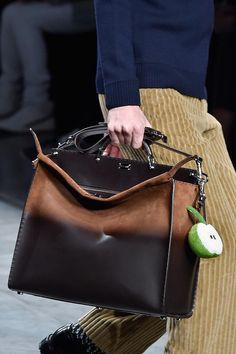 6bc73c6aacbf Peekaboo and Bag Bugs! Fendi Men s Runway  F W 2015