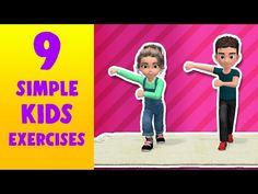 Fitness Games For Kids, Kids Fitness, Exercise For Kids, Indoor Recess, Little Sport, Pe Games, Brain Breaks, Gross Motor, Tabata