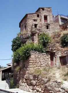 Beceite, calle del lavadero,  Teruel  Spain