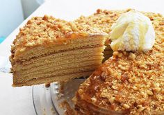Rus Pastası Tarifi It is a delicious and really enjoyable cake to eat. It is a kind of cake that can be presented to guests and prepared on birthdays. Cream Cheese Desserts, Lemon Desserts, Easy Desserts, Delicious Desserts, Dessert Bread, Dessert Bars, Easy Easter Recipes, Russian Cakes, Cake Recipes