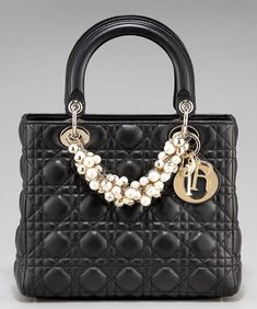 868ee2d0fe3e Read- Medium Lady Dior handbag adorned with pearls is a beauty on  Luxurylaunches