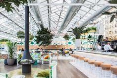 Madrid's New Greenhouse Turned Restaurant Is a Gardener's Dream