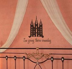 Temple LDS Art Vinyl Wall Lettering Words Decal Quote   eBay    Remeber to also check out: MormonFavorites.com