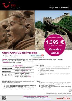 Descubre CHINA: China ciudad prohibida. Precio final desde 1.395€ ultimo minuto - http://zocotours.com/descubre-china-china-ciudad-prohibida-precio-final-desde-1-395e-ultimo-minuto-2/
