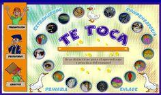 """""""Te toca a la Oca"""", de editorial Edinumen, desarrolla el vocabulario básico en las primeras fases de aprendizaje de la lengua española mediante el popular juego de la Oca. Es decir, está indicado para primer y segundo niveles de educación primaria, educación compensatoria e iniciación de extranjeros. Se trata de actividades de Lengua Española, pero también de vocabulario propio de otras áreas."""