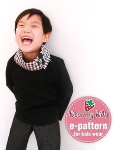 Unisex Cowl Neck Pull Over Jacket  (12 months upto age 6)PDF patterns and instructions. $6.00, via Etsy.