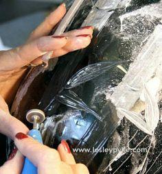 Glass engraving techniques