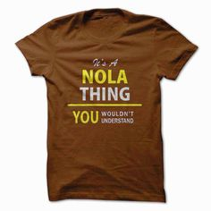 Its a NOLA thing, you wou... #Personalized #Tshirt #nameTshirt