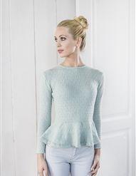 Genser Diy Fashion, Knit Crochet, Turtle Neck, Pullover, Knitting, Sweaters, How To Wear, Hooks, Crocheting