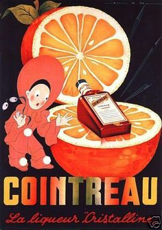 Cointreau Drink 1950 's French Beverage