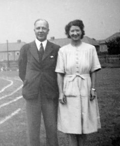 Mr. and Mrs. Toy - Olton - Early 1930s - not long married.