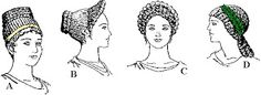 ROMA Las mujeres romanas compensaban la sencillez de su vestuario con el arte del peinado.