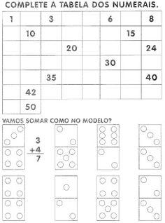 ALFABETIZAÇÃO CEFAPRO DE PONTES E LACERDA : Algumas Atividades 1º ano Matemática