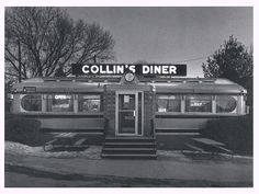 Postcard - Collin's Diner, Canaan Conn. - 1980