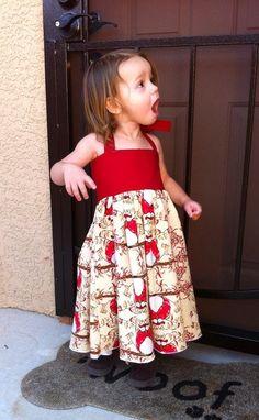 dress pattern 3 m - 8