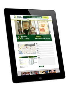 Zakenkantoor Keerman // Reclamemateriaal - webdesign - grafisch ontwerp