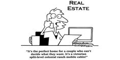 There's always something that fits your needs #RealEstate #Humor!